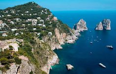 Capri in Italy. So beautiful!