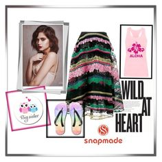 """5# Snapmade"" by maja-jahic ❤ liked on Polyvore featuring Valentino"