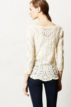 anthropologie -- gracie top