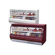 Gabinetes para postes y delicatessen (245 cm) low profile/ Desserts and delicatessen cabinets (245 cm) low profile