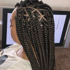 Top 60 All the Rage Looks with Long Box Braids - Hairstyles Trends Box Braids Hairstyles For Black Women, African Braids Hairstyles, Braids For Black Hair, Braid Hairstyles, Short Box Braids, Blonde Box Braids, Medium Box Braids, Black Cherry Hair, Box Braids Pictures