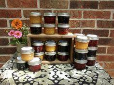 20- 4oz Cordial Jam Variety Pack, Strawberry, Peach, Blueberry, Jam, Preserves, Jelly