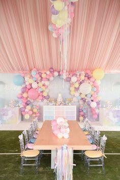 Dream, Believe & Wish Pastel Unicorn Birthday Party on Kara's Party Ideas | KarasPartyIdeas.com (18)