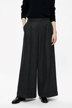 COS | Oversized wool trousers