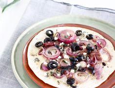 Yes, hoera voor de wrappizza, pizzawrap, tortizza... whatever! In ieder geval: een pizzaatje maken van je wrap of tortilla is een topidee. Deze variant met geka