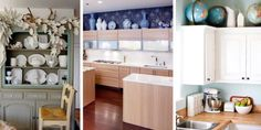 15 Genius Solutions for the Awkward Space Above Kitchen Cabinets
