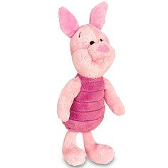 Piglet stuffed animal...I still have one of these....my favorite!!
