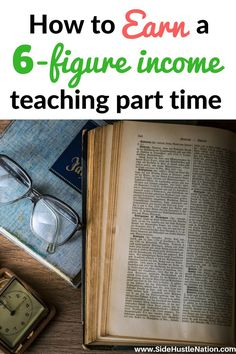 How To Earn 6 Figures Teaching Online Part Time