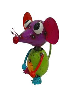 Bring some fun with these Cheeky Nosy Mouse wherever put them inside or outside in your house. Bird Sculpture, Sculptures, Some Fun, Pet Birds, Catalog, Metal, House, Animals, Art