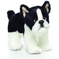 Nat and Jules Boston Terrier Plush Toy, Small ** You can get more details by clicking on the image. (This is an affiliate link) #PlushFigures