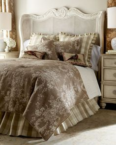 A Joyful Cottage: Girl Meets toile de Jouy- 16 Master Bedrooms Featuring Toile