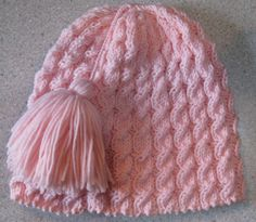 Twist Four Mock Cable Stitch Hat