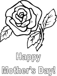 print out mothers day roses coloring pages for kids free online printable mothers day roses coloring pages for preschool