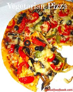 COOL Homemade Vegetarian Pizza