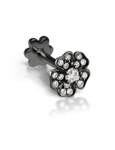 5.5mm Diamond Pansy Flower Threaded Stud (Conch) Image #1