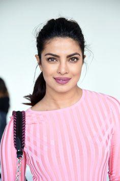 Actress Priyanka Chopra attends the Altuzarra fashion show during New York…