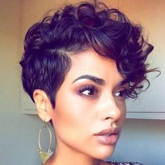 short wigs short curly wigs hairstyles haircut lace front wigs human hair wigs w… - Frisur Frisuren Haar Short Curly Wigs, Short Curly Haircuts, Curly Hair Cuts, Hairstyles Haircuts, Straight Hairstyles, Curly Hair Styles, Natural Hair Styles, Black Hairstyles, Teenage Hairstyles