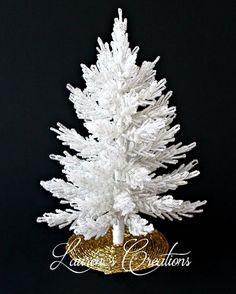 Beaded Christmas Tree by Lauren Harpster