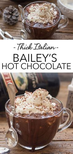 Italian Hot Chocolate Recipe, Spiked Hot Chocolate, Chocolate Dipped Fruit, Homemade Hot Chocolate, Hot Chocolate Bars, Hot Chocolate Recipes, Delicious Desserts, Dessert Recipes, Drink Recipes