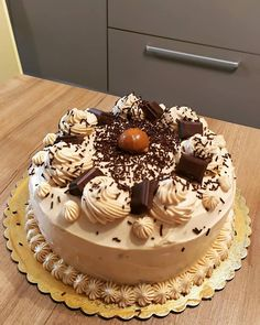 Dear Santa, Food To Make, Deserts, Dessert Recipes, Birthday Cake, Cooking Recipes, Sweets, Chocolate, Foods