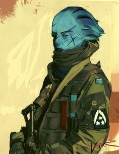 Mass Effect,фэндомы,ME art,Liara,modern warfare,ME crossover