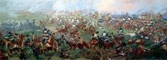 Imperial Guard Cavalry: 1 (Napoleon's Last Army) Bataille De Waterloo, Napoleonic Wars, Continents, Empire, Army, Plants, Painting, Outdoor, Europe