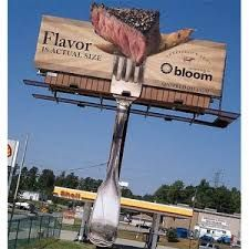 Resultado de imagen de ejemplos de publicidad exterior creativa