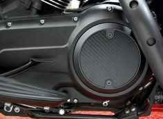 Modern Style Black Carbon Fiber Derby Cover for Victory Motorcycle Freedom Engines
