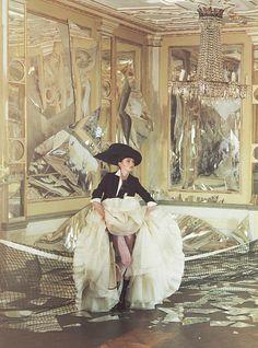 Lisa Cant in 'Ballroom Blitz'  Photographer: Tim Walker  Vogue Nippon September 2006