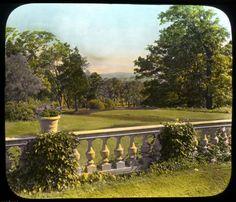 Glass Lantern Slide, 1930. Leesburg, Va. via @Smithsonian Gardens