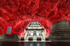 The 16 most beautiful metro stations in the world