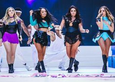 Little Mix at the Capital Summertime Ball 2015. They look so cute!❤️