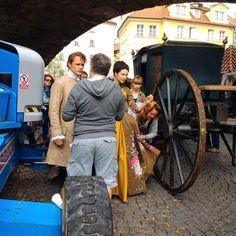 Filming Season 2 in Prague [via Jelínková @PetraJelinkova]