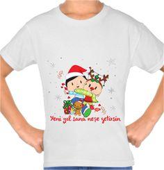 Pepee - Yeni Yıl Kendin Tasarla - Çocuk Tişört
