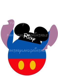Stitch Mickey Mouse MGM DIY Printable Iron Transfer family  Disney trip shirt Vacation Lilo Hawaii Ohana Family Disney World Mouse ears