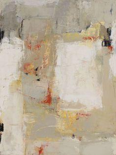 "Martha Rea Baker, Excavation II, 48 x 36"", oil, cold wax on panle"