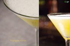 Pineapple Martini Martini, Glass Of Milk, Pineapple, Urban, Drinks, Food, Drinking, Pinecone, Beverages