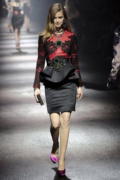 LOVE everything in the Lanvin Fall '12 lineup