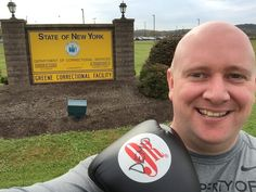 Killer Kozloski is at Coxsackie Correctional Health Fair today! Are you in law enforcement? Then you have to be in top shape! 9Round Catskill can keep you in the best shape you've ever been in!  It's also great for stress relief, will help you sleep better, and perform better at your job. Get in for special deals and discounts now! #9roundcatskill #30minutes #sweattherapy