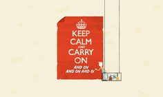 Keep Calm and Carry On ( and On and On and On). The sinister message behind the poster. The Guardian, Jan 2016