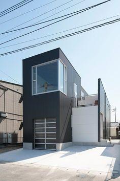 House in Tokurikishinmachi, Kitakyushu, 2014 - Masao Yahagi Architects #japan #architecture