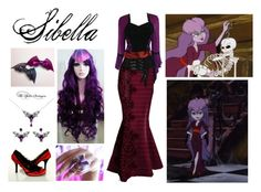 """""""Scooby Doo and the Ghoul School: Sibella"""" by mangerlecole ❤ liked on Polyvore"""