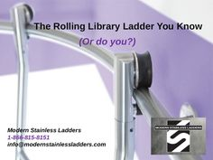 You can choose your style, finish for the steps, accessories and library ladder hardware, and even the height of the ladder that you need for your design.  #modernlibraryladder #slidinglibraryladder #libraryladders #rollinglibraryladder
