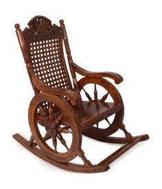 Rocking Chair Price In India. Buy Cushion Rocking Chair Online In India. Home and Family Dining Table Chairs, Living Room Chairs, Rocking Chair Cushions, Chair Price, Swinging Chair, Cool House Designs, Chair Pads, Teak Wood, Door Design