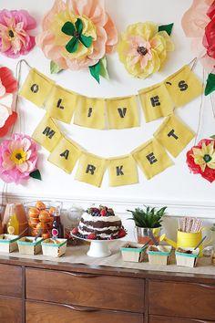 Farmer's Market birthday party   Lark Photography   100 Layer Cakelet