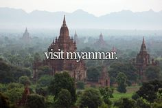 Bucket List: Visit Myanmar