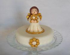 Come fare un angioletto Thun in pasta di zucchero. Tutorial in italiano di cake design