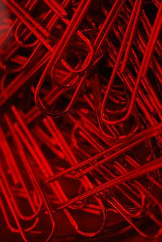 red = rojo :) paper clips I love different colors of paper clips. I See Red, Aesthetic Colors, Makeup Aesthetic, Aesthetic Collage, Aesthetic Food, Travel Aesthetic, Simply Red, Red Walls, Color Stories
