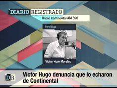 Víctor Hugo denuncia que lo echaron de Continental