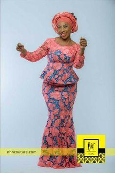 NHN-Couture ~African fashion, Ankara, kitenge, African women dresses, African…